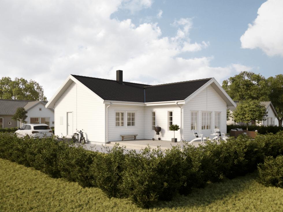 Villa Adelöv - Illustration
