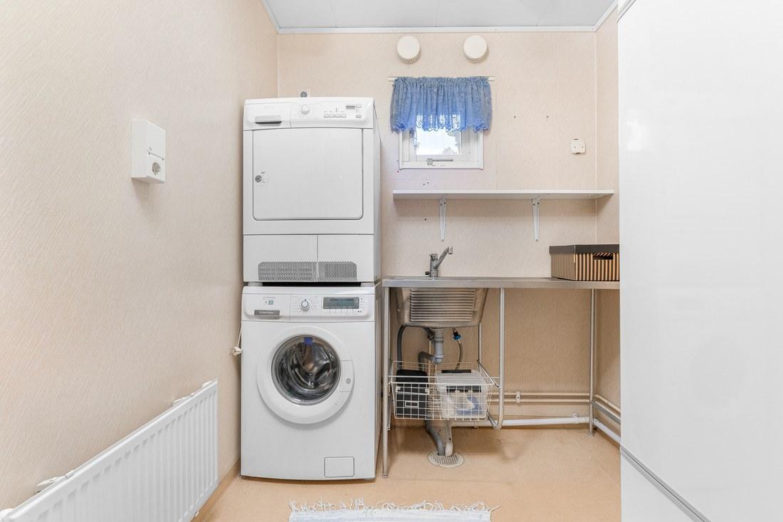 Torktumlare och tvättmaskin