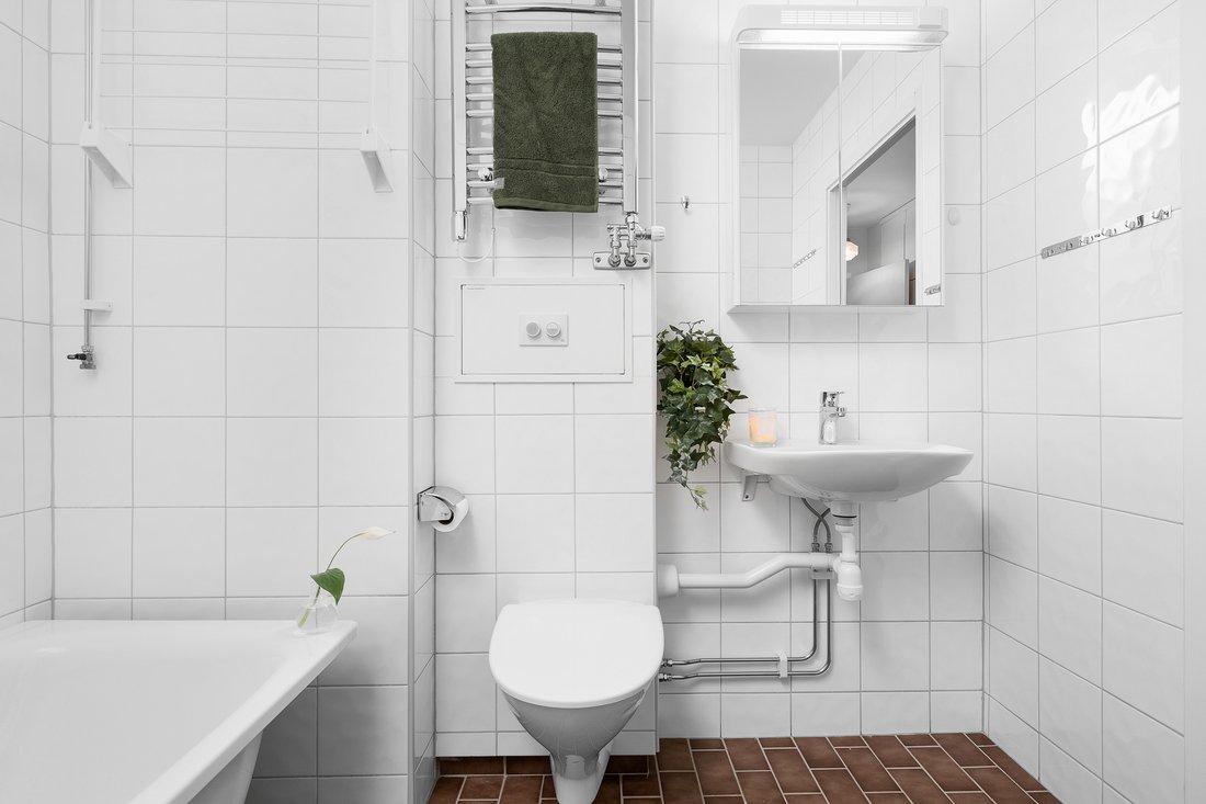 Vägghängd wc...