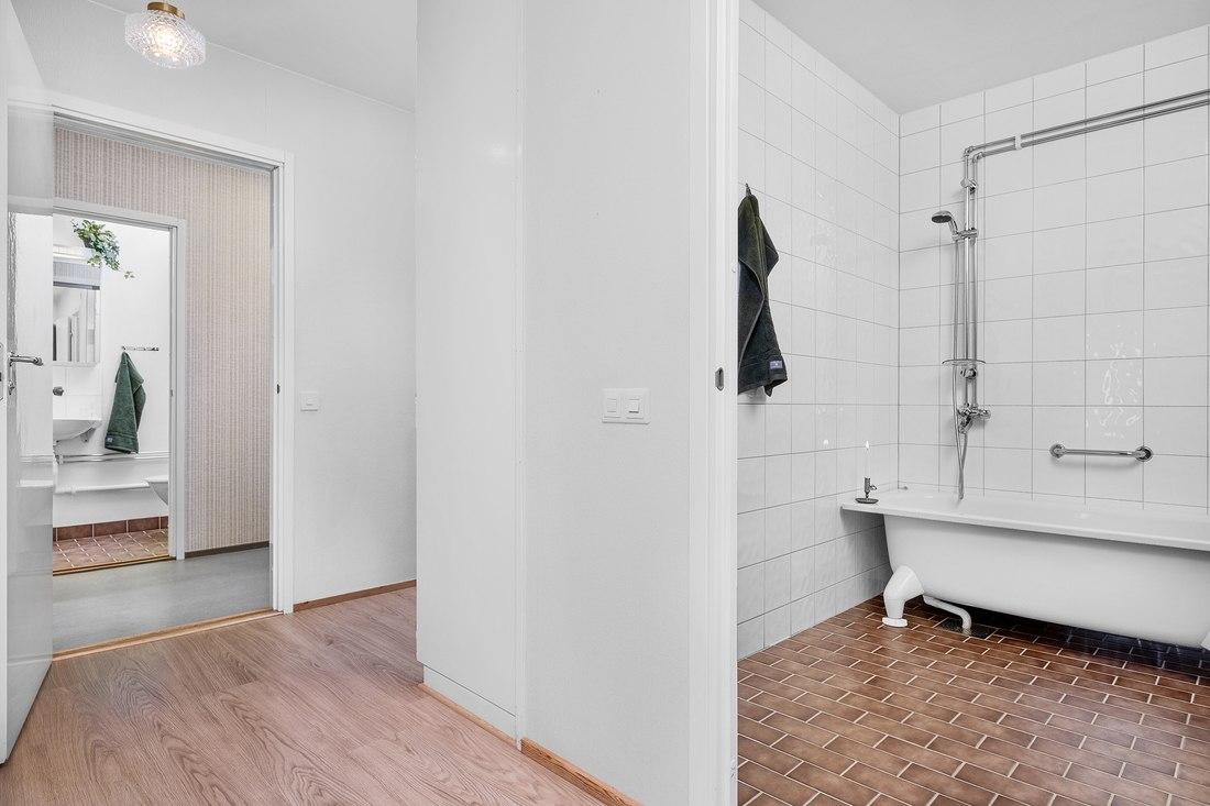 Två totalrenoverade toaletter...
