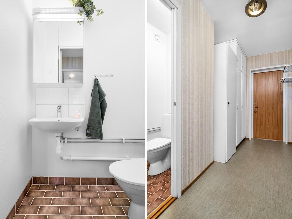 Tonårs-/uthyrningsdel med egen ingång och toalett...