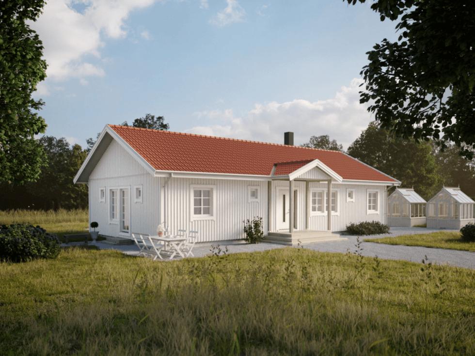 Villa Fredriksdal - Illustration