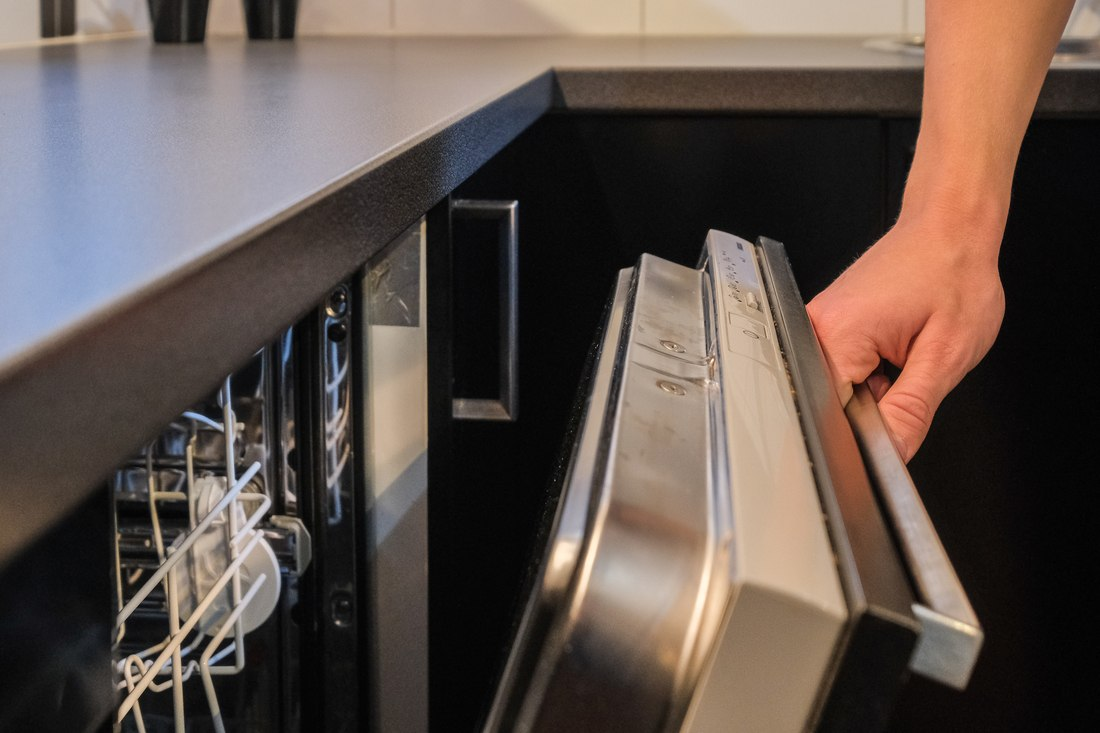 Integrerad diskmaskin