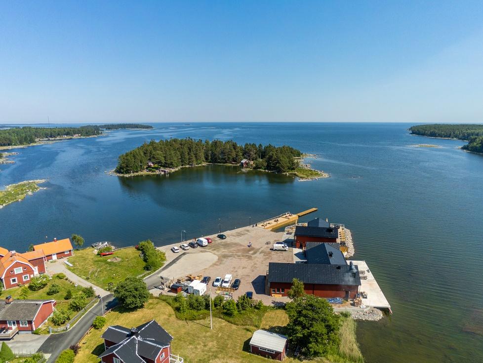 Områdesbild Norrsundet - Saltharsfjärden, Bergmans Fisk