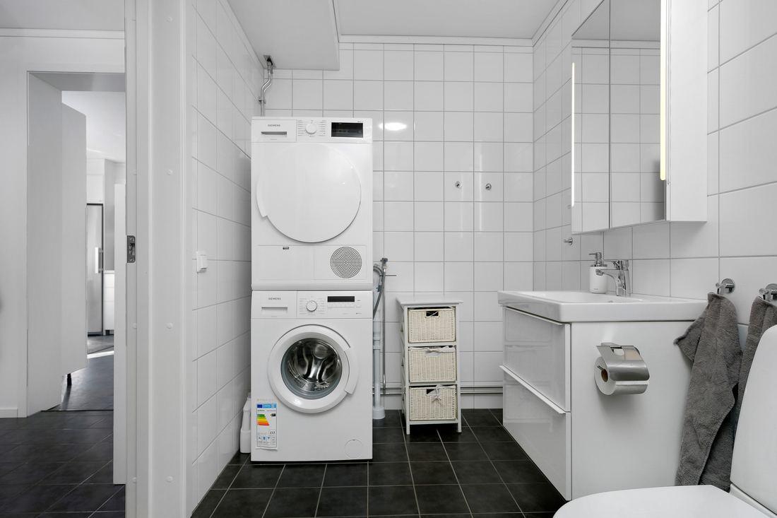 Rymligt med tvättpelare...