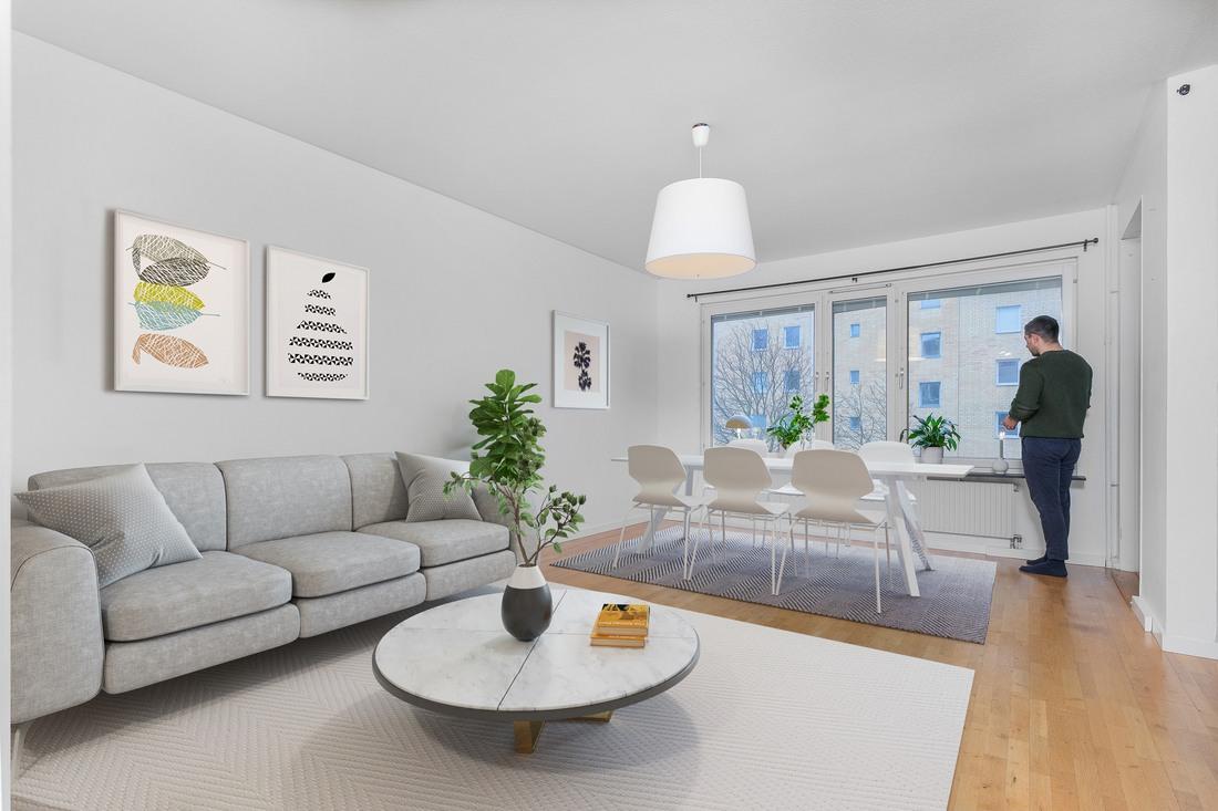 Digitalt stylad - möjlig möblering...