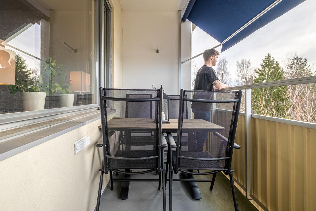 Möblerbar balkong...